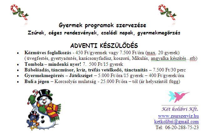 születésnapi programok Két kolibri   gyerekzsúr, születésnapi zsúr, meglepetésparty  születésnapi programok