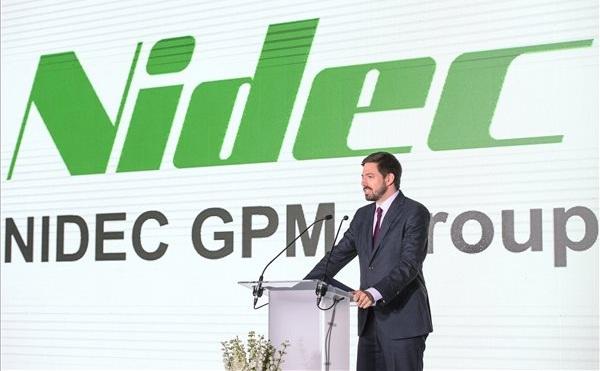 Új csarnokot avattak a NIDEC berceli gyárában