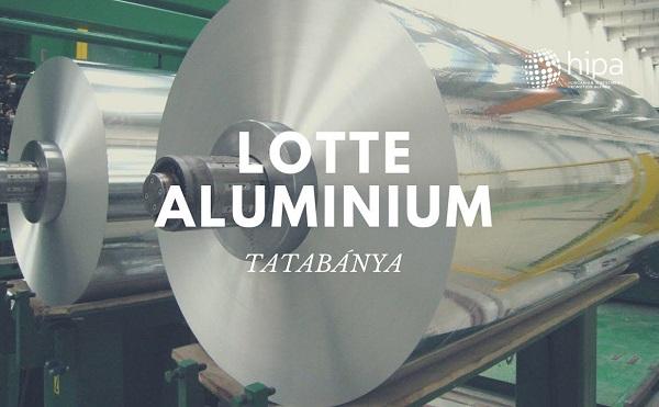 Tatabányán épít gyárat a Lotte Aluminium Kft.