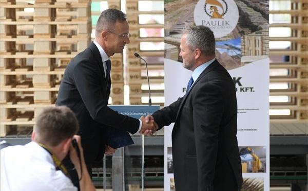 A nyíradonyi Paulik Kft. 227,6 millió forintos beruházást hajt végre